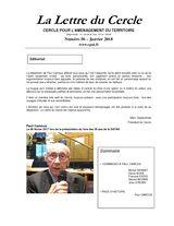 thumbnail of Lettre 56 spéciale Paul Camous – janvier 2018