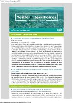 thumbnail of Veille et Territoires – En quelques clics 217 ext