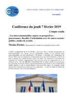 thumbnail of Compte rendu Conférence de Nicolas Portier 7 février 2019
