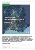 thumbnail of Les mobilités résidentielles en France