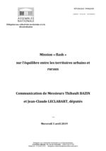 thumbnail of mission parlementaire équilibre entre territoires