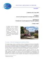 thumbnail of 2019-06 Compte rendu de la Conférence A Rousset