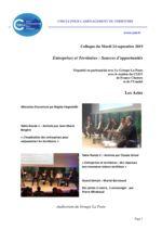 thumbnail of Acte du colloque Entreprises et territoires (VF)