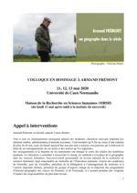 thumbnail of Frémont_Armand_colloque-Hommage_appel à intervention