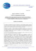 thumbnail of 2020 10 Synthèse des Cntributions Covid et aménagement du territoire