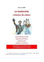 thumbnail of Le Leadership , créateur de valeur