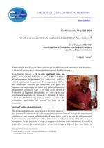 thumbnail of Compte rendu conférence Drevet 1 Juillet 2021