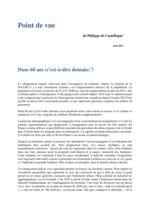 thumbnail of Point de vue de Philippe de Castelbajac Aout 2021